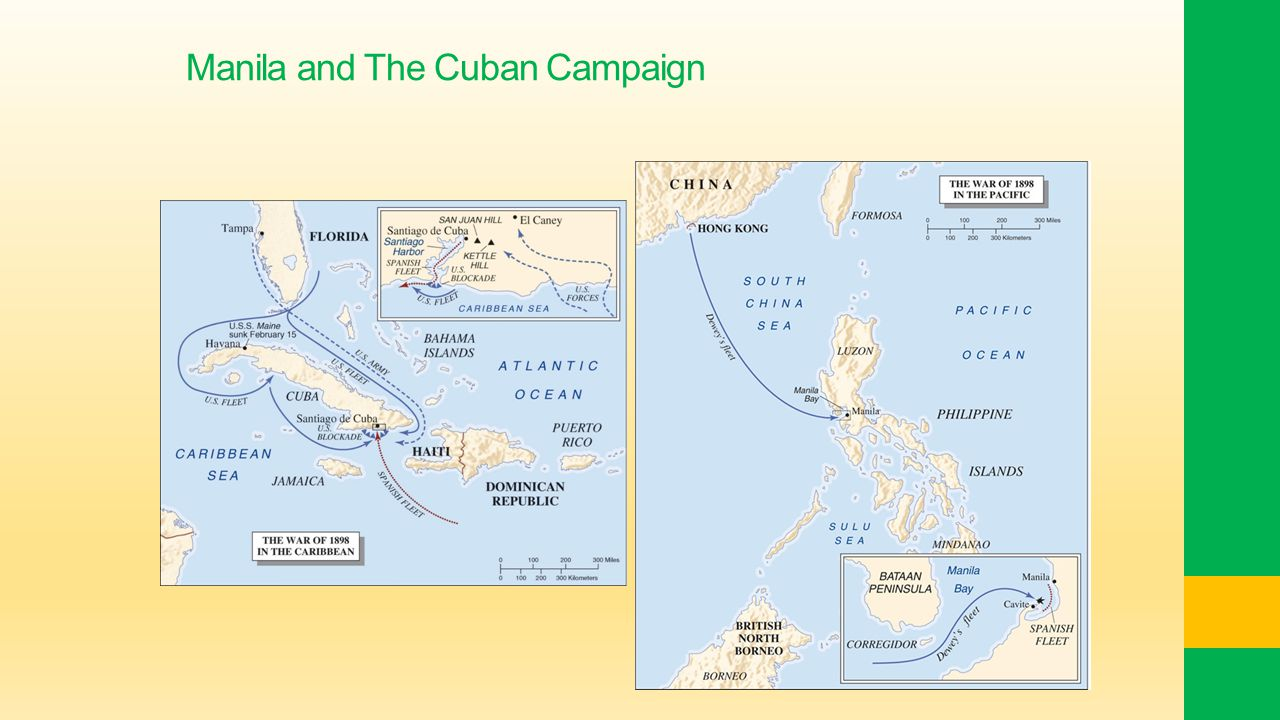 Manila and The Cuban Campaign