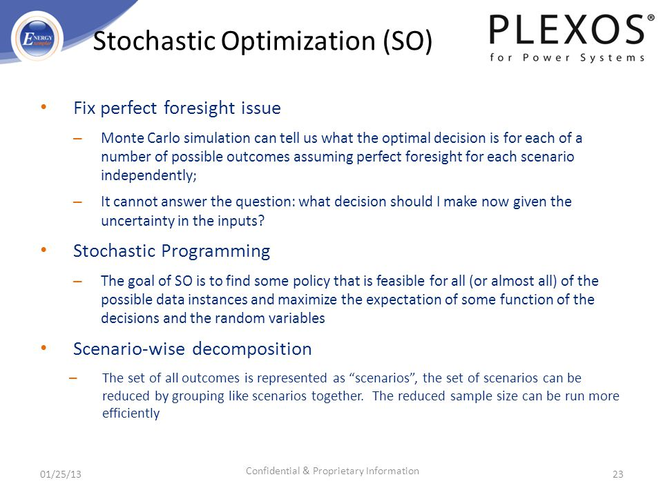 Stochastic Optimization (SO)