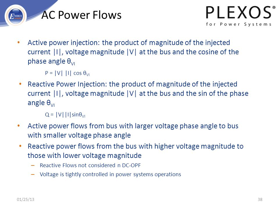 01/25/2013 AC Power Flows.
