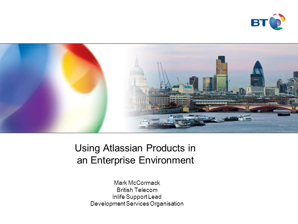 Using Atlassian Products in an Enterprise Environment