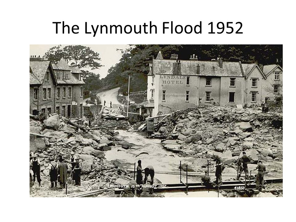 The Lynmouth Flood 1952