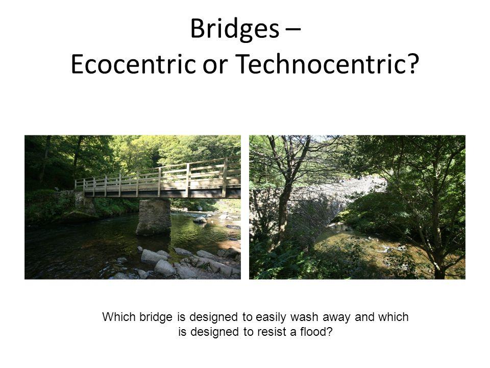 Bridges – Ecocentric or Technocentric