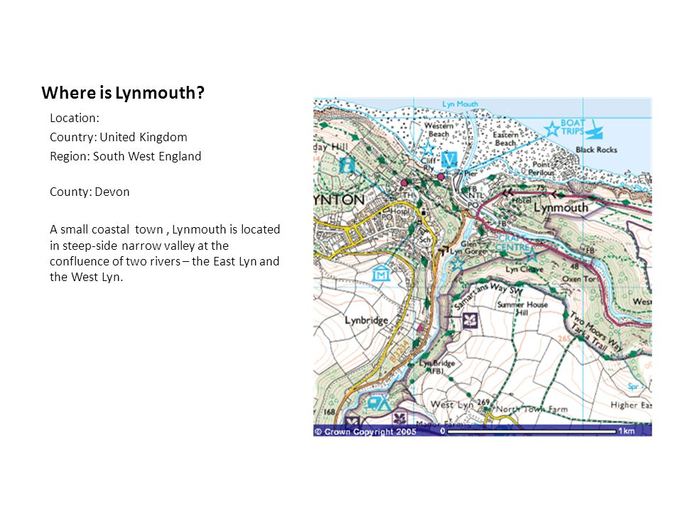 Where is Lynmouth Location: Country: United Kingdom