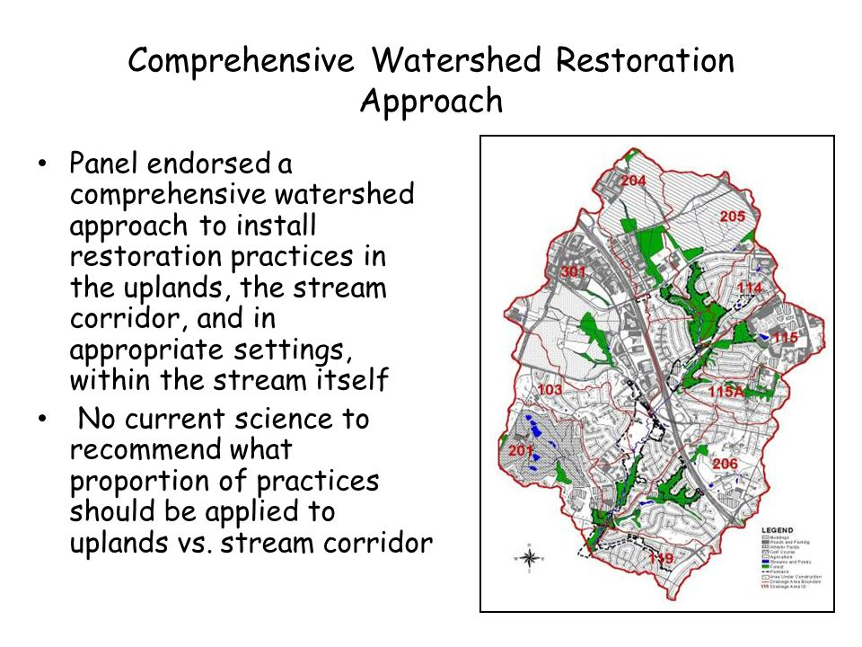 Comprehensive Watershed Restoration Approach