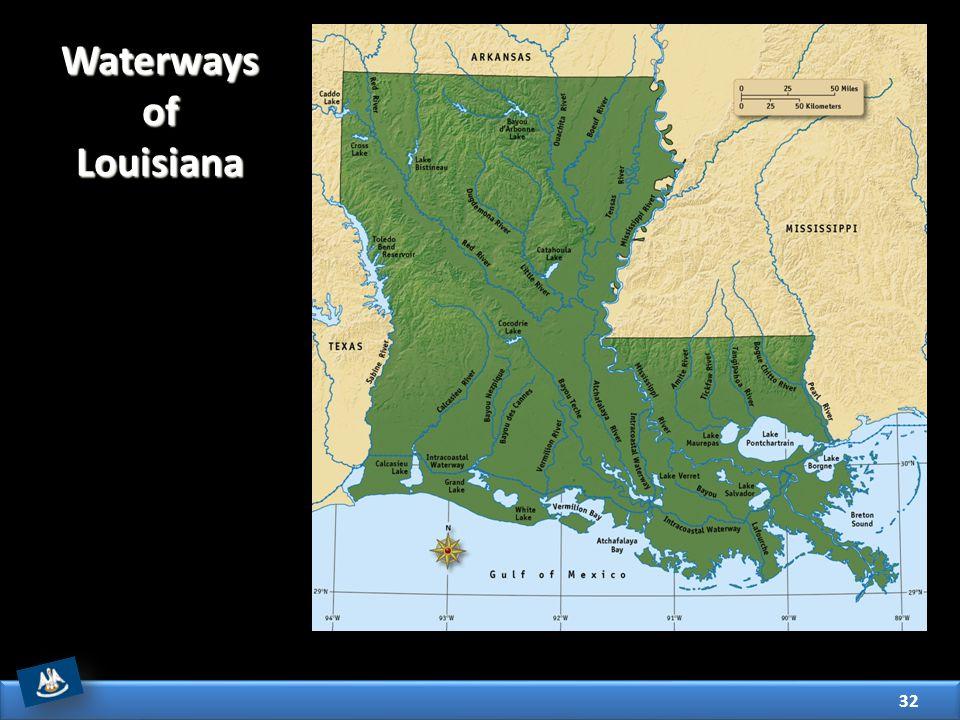 Waterways of Louisiana