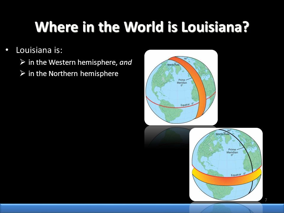 Where in the World is Louisiana