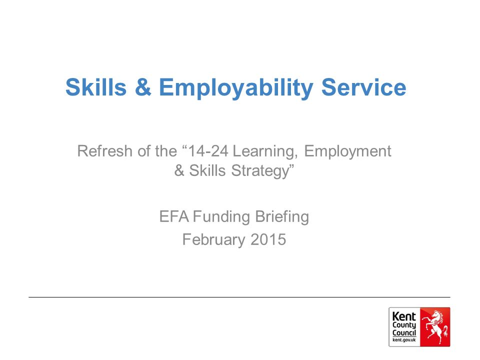 Skills & Employability Service