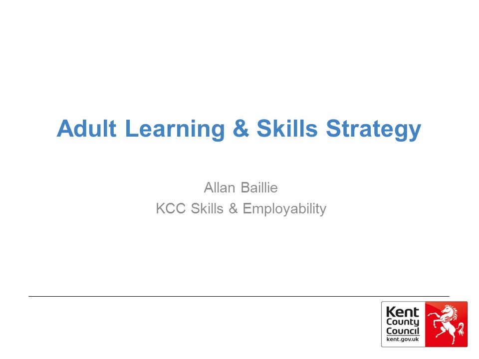 Adult Learning & Skills Strategy