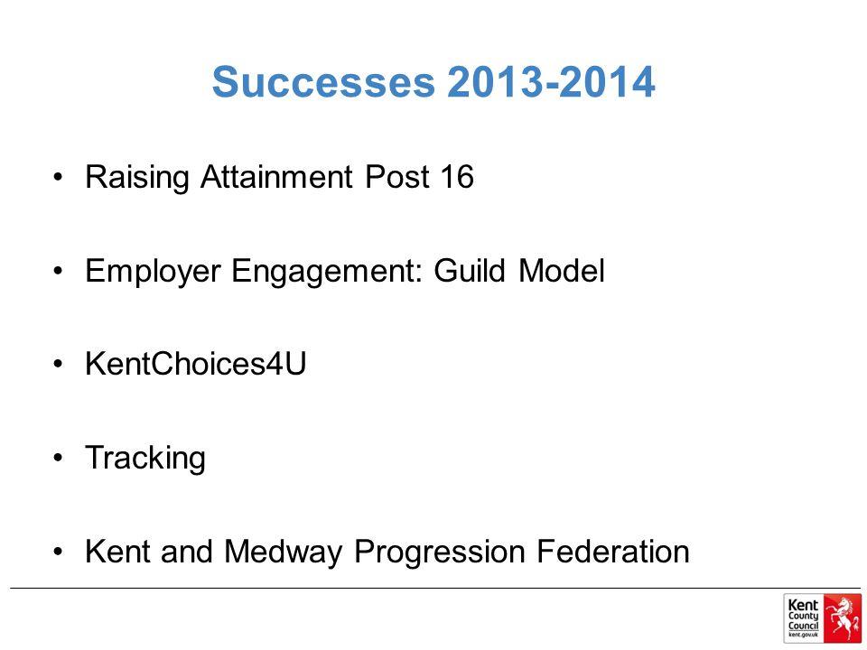 Successes 2013-2014 Raising Attainment Post 16