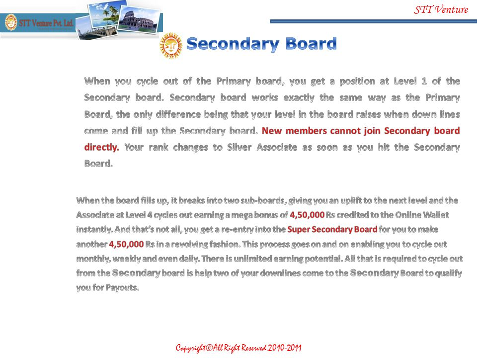 Secondary Board