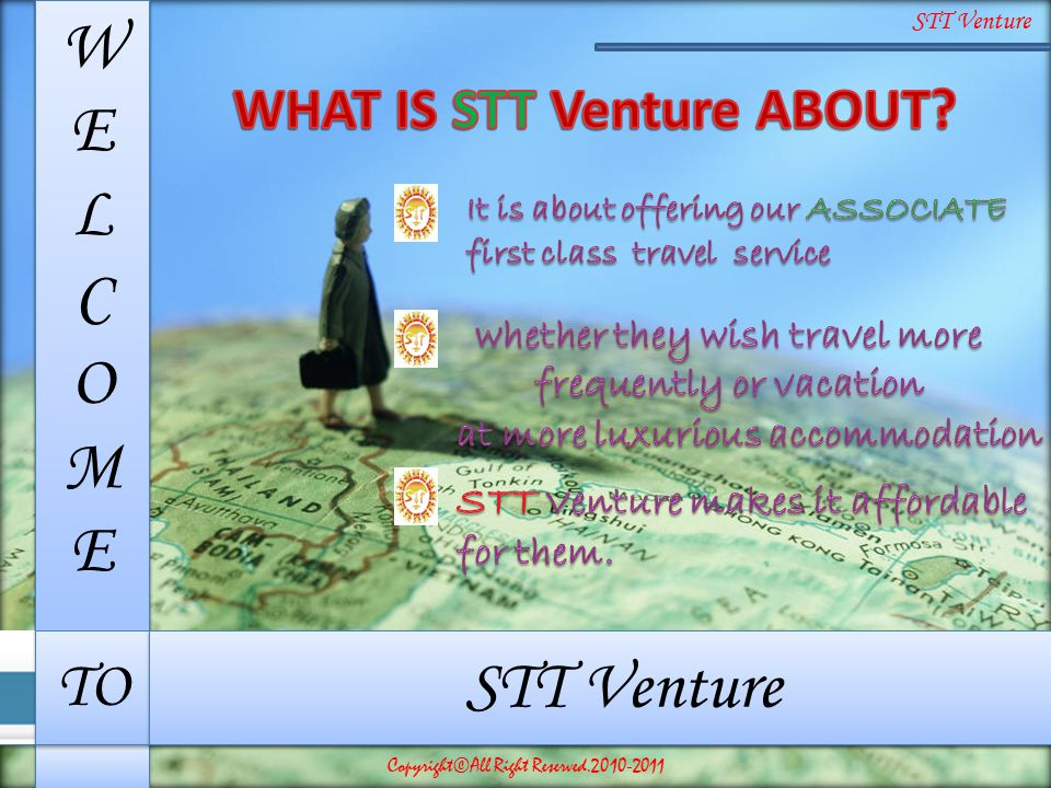 WHAT IS STT Venture ABOUT