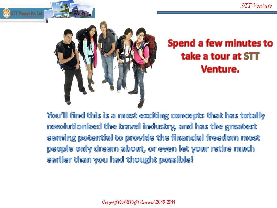 Spend a few minutes to take a tour at STT Venture.