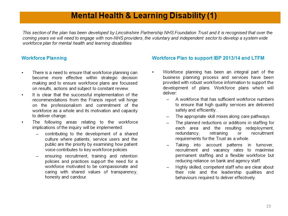 Mental Health & Learning Disability (1)