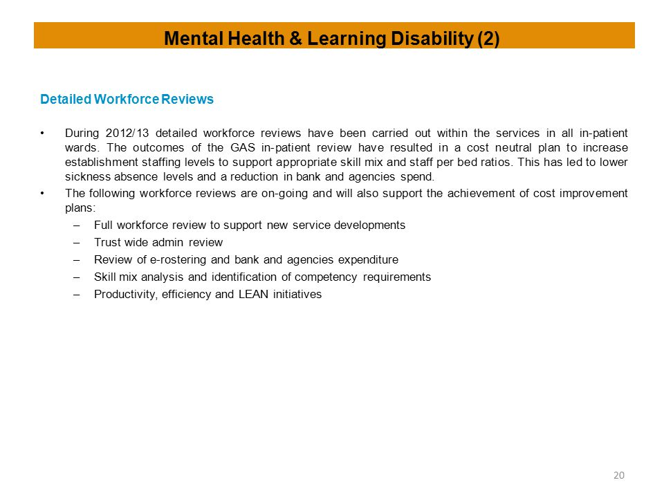 Mental Health & Learning Disability (2)