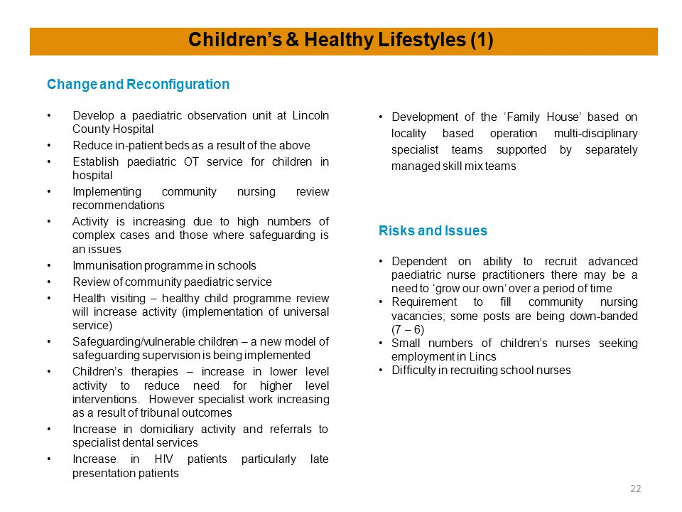 Children's & Healthy Lifestyles (1)