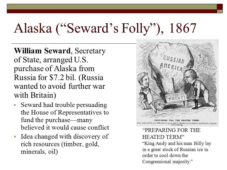 Alaska ( Seward's Folly ), 1867