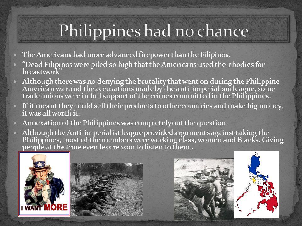 Philippines had no chance