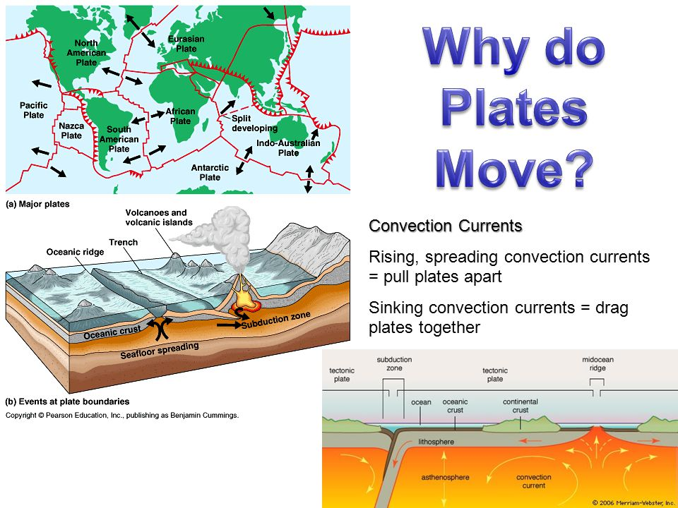 Why do Plates Move Convection Currents