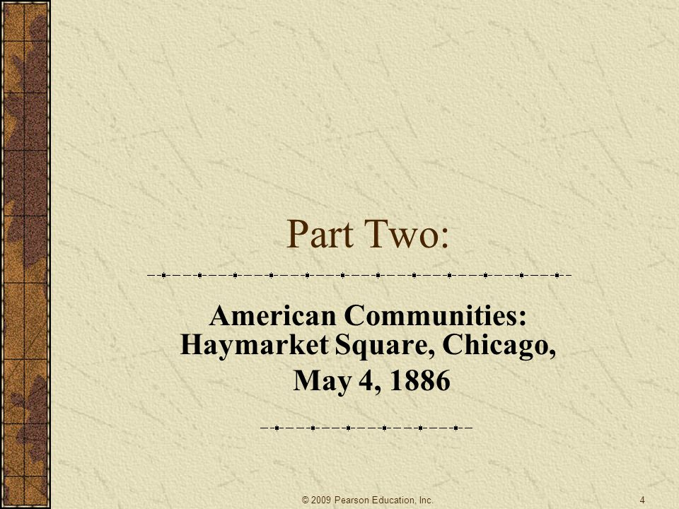 American Communities: Haymarket Square, Chicago, May 4, 1886