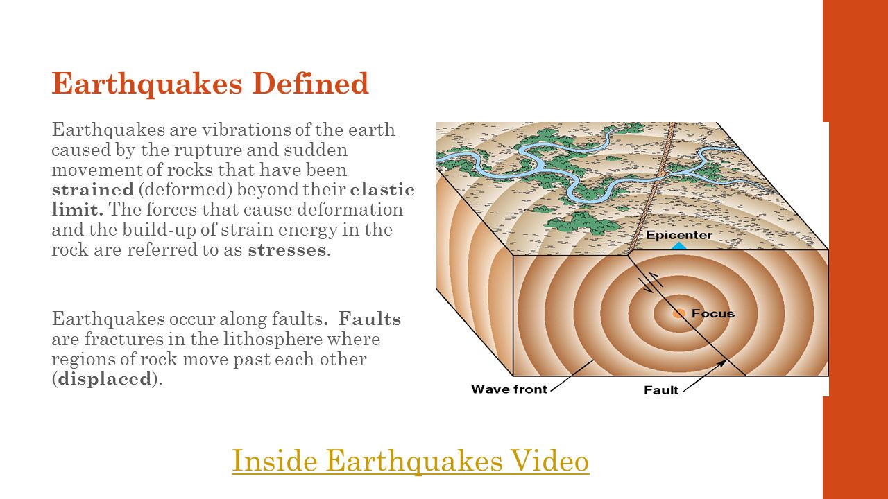 Inside Earthquakes Video