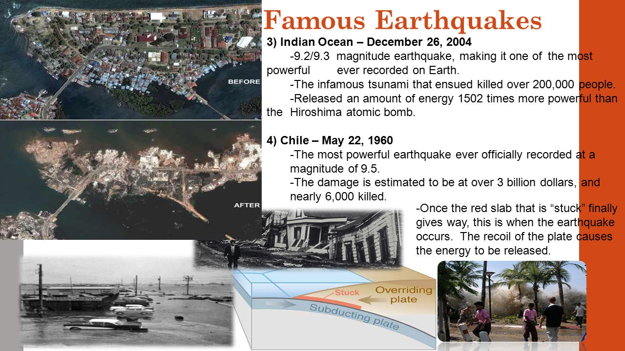 Famous Earthquakes 3) Indian Ocean – December 26, 2004