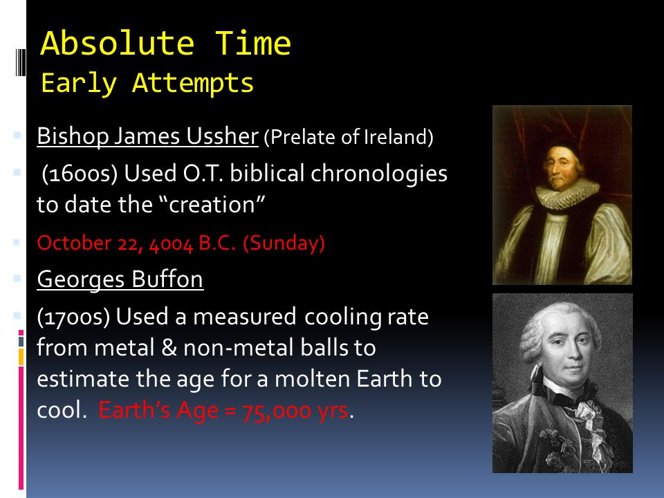 Absolute Time Early Attempts