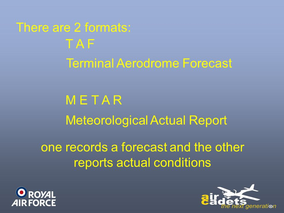 Terminal Aerodrome Forecast