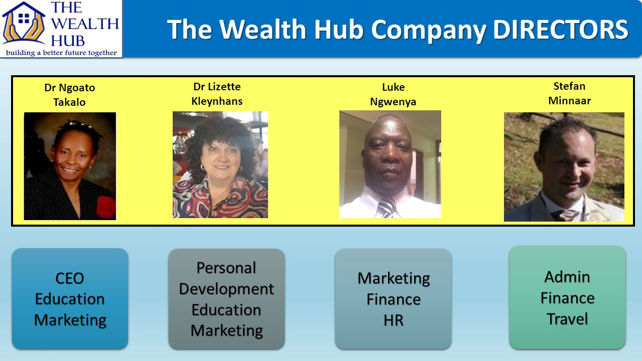 The Wealth Hub Company DIRECTORS