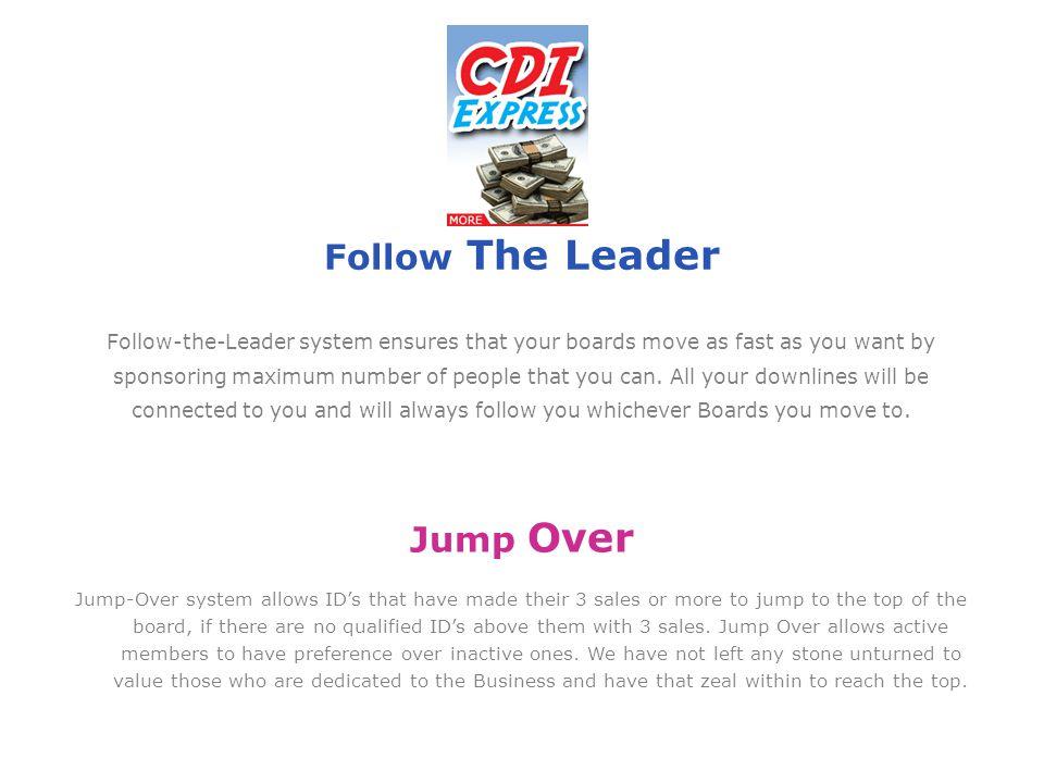 Follow The Leader Jump Over