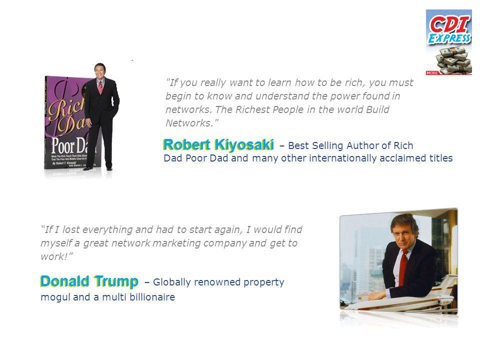 Robert Kiyosaki Donald Trump