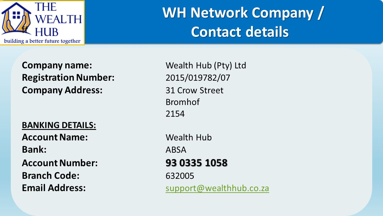 WH Network Company / Contact details