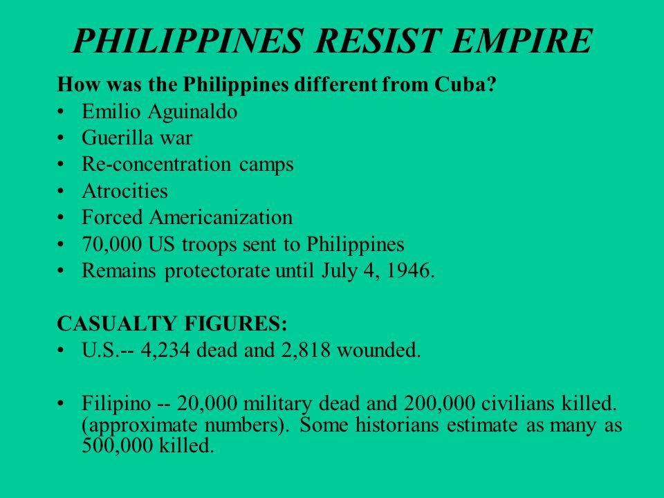 PHILIPPINES RESIST EMPIRE