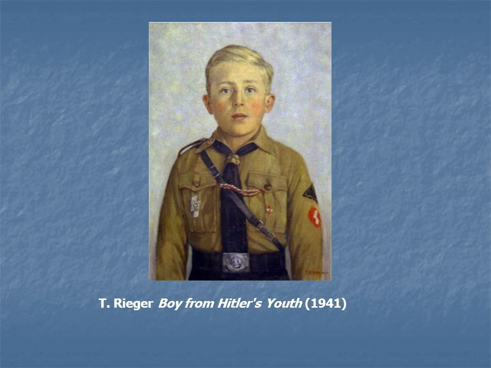 T. Rieger Boy from Hitler s Youth (1941)