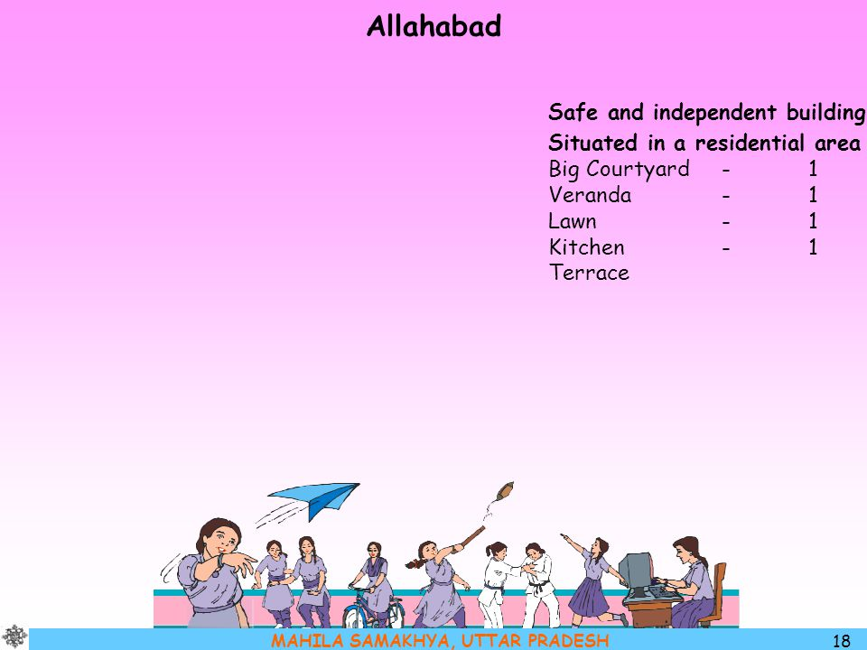 Allahabad Safe and independent building Situated in a residential area