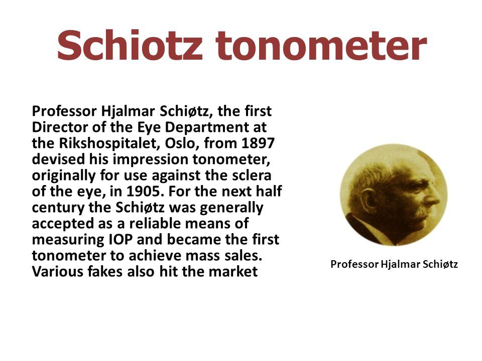 Schiotz tonometer