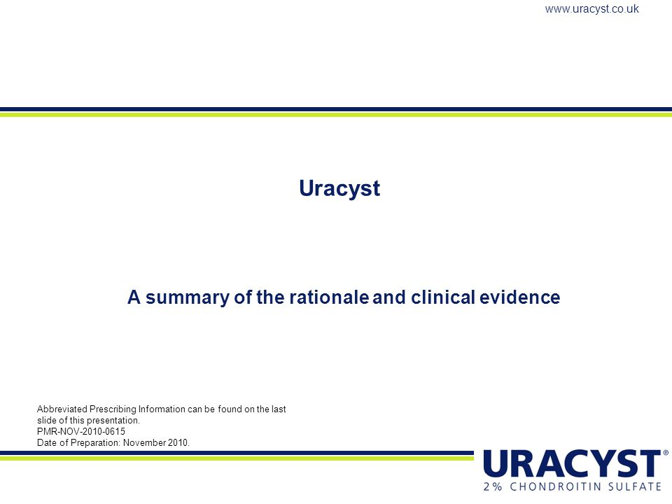 A summary of the rationale and clinical evidence