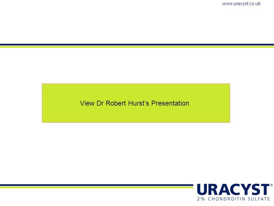 View Dr Robert Hurst's Presentation
