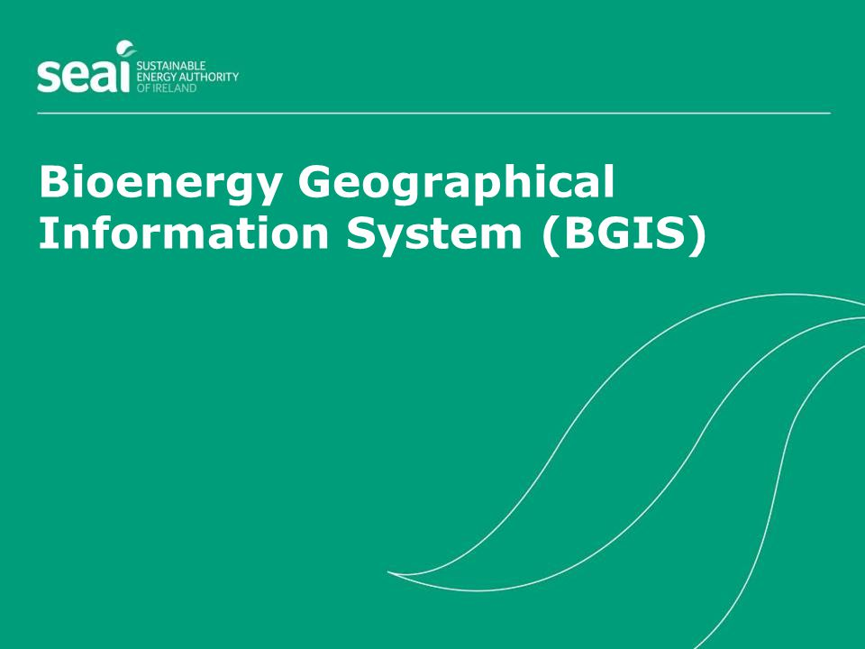 Bioenergy Geographical Information System (BGIS)