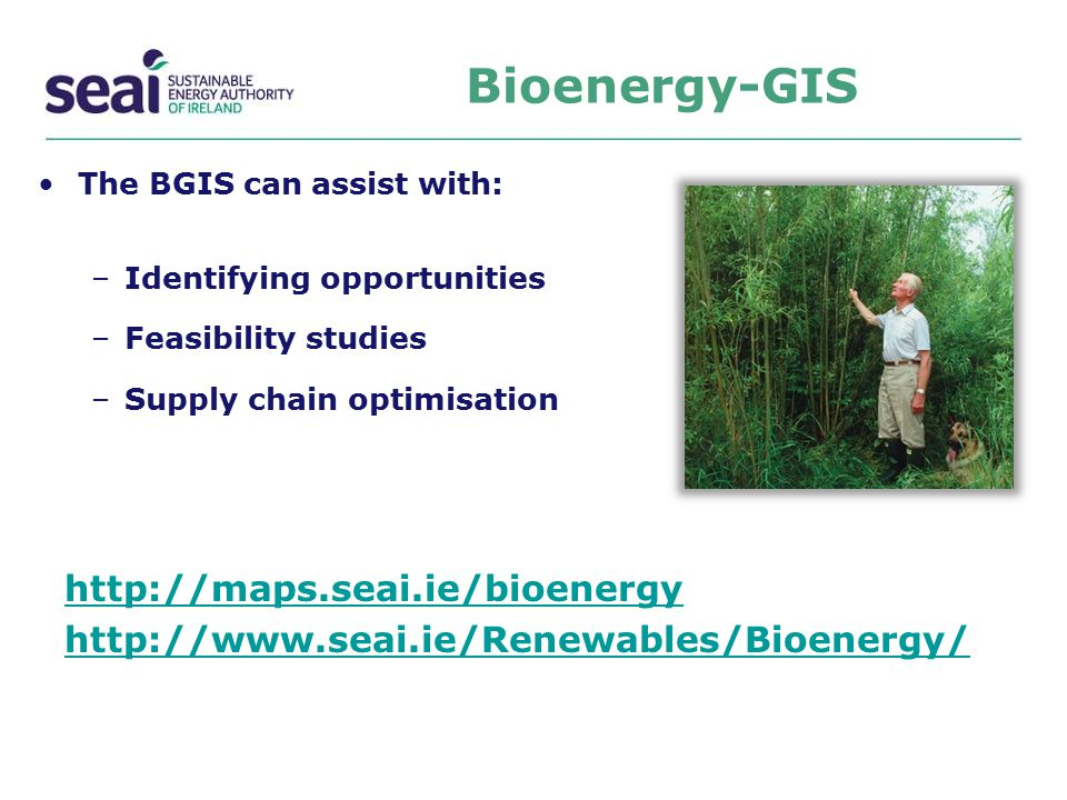 Bioenergy-GIS http://maps.seai.ie/bioenergy