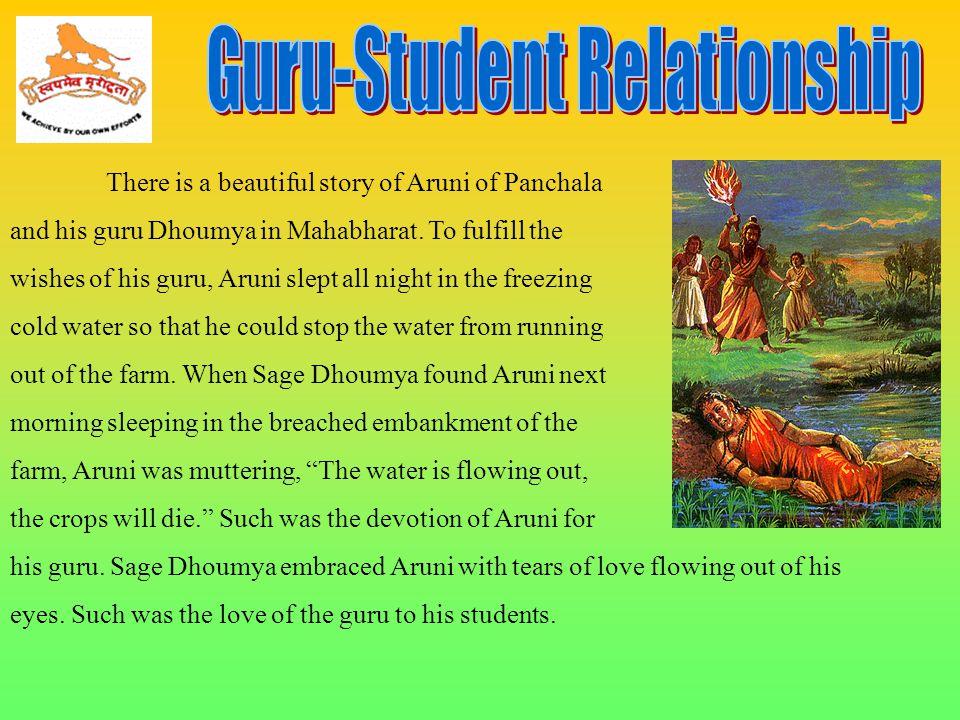 Guru-Student Relationship