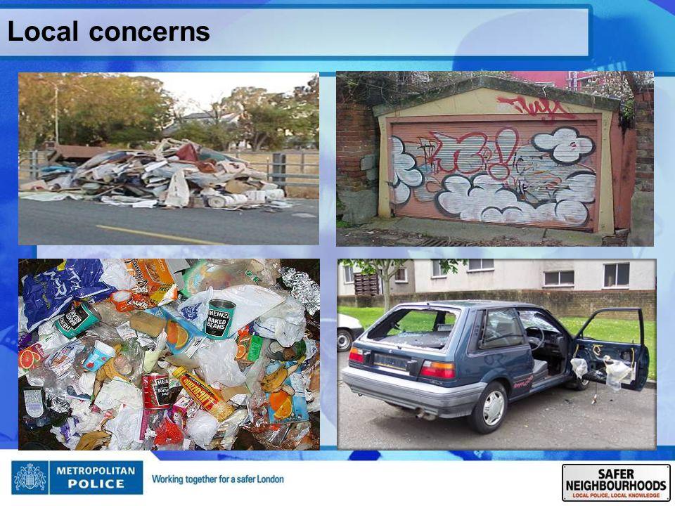 Local concerns