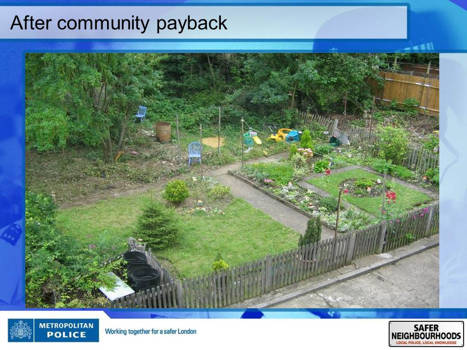 After community payback
