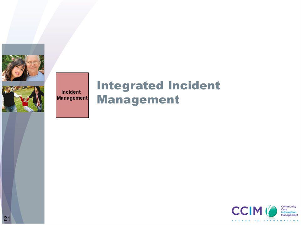 Integrated Incident Management
