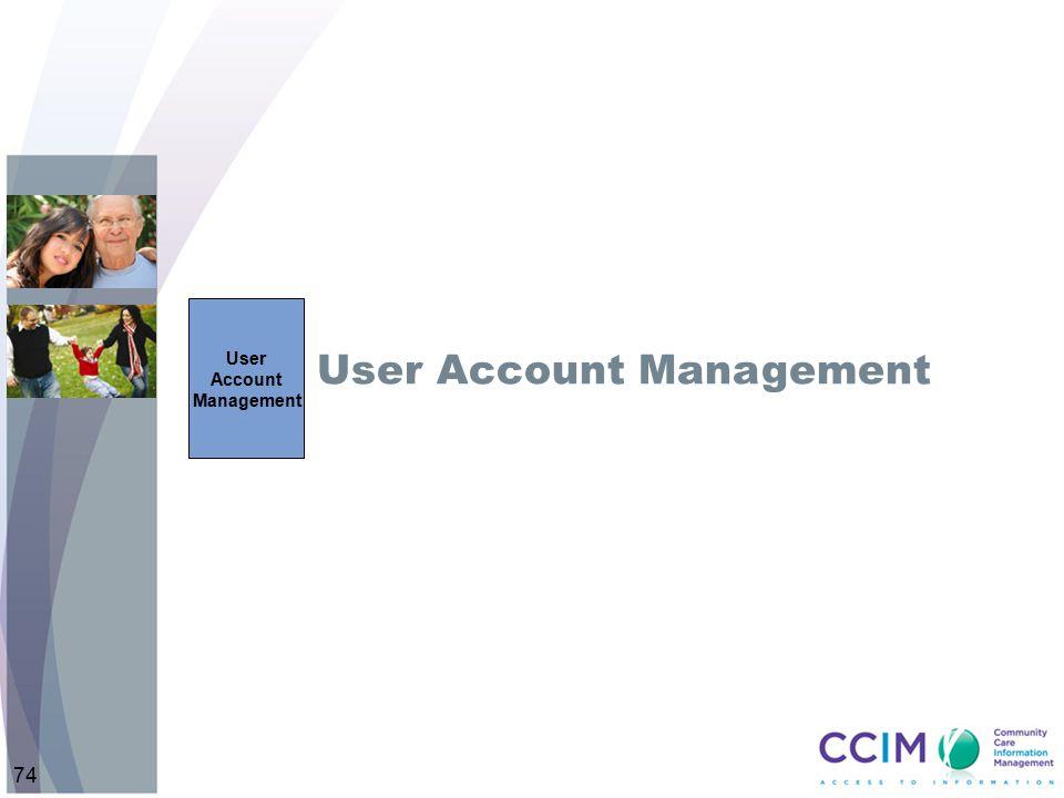 User Account Management