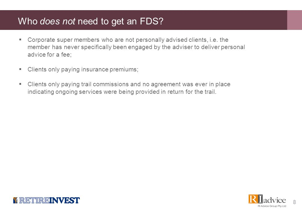Providing the FDS How long do you have to provide the FDS to the client