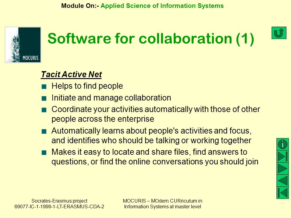 Software for collaboration (1)