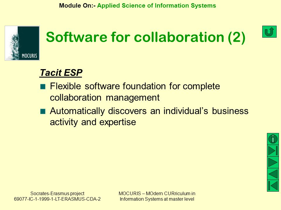 Software for collaboration (2)