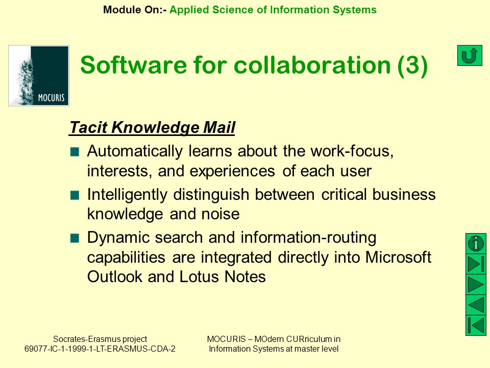 Software for collaboration (3)