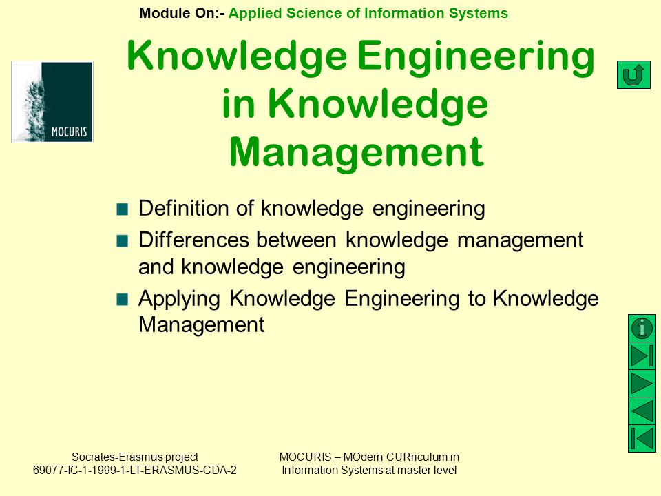 Knowledge Engineering in Knowledge Management