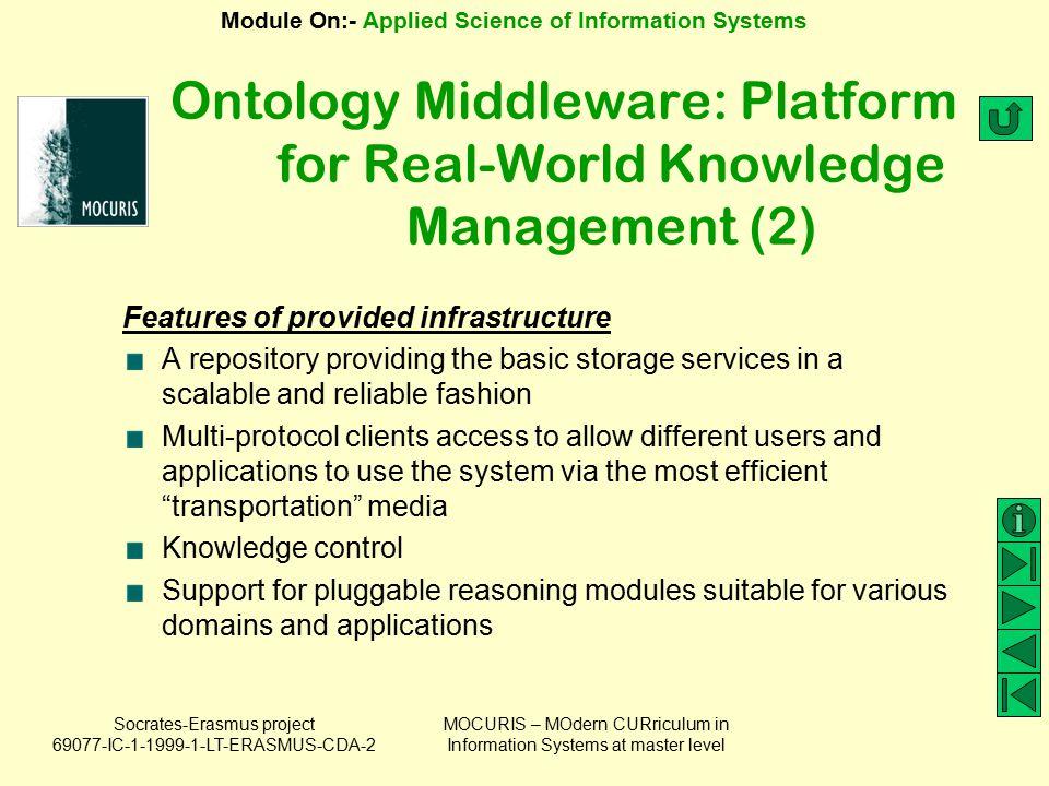 Ontology Middleware: Platform for Real-World Knowledge Management (2)